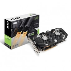 TARJETA DE VIDEO GEFORCE MSI GTX1060 6GT OC DDR5 PCIeX 3.0 P/N GTX 1060 6GT OC