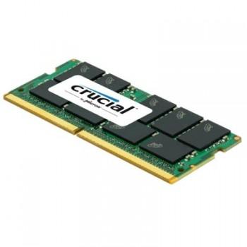 MEMORIA SODIMM CRUCIAL DDR4 16GB 2400 P/N CT16G4SFD824A