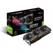 TARJETA DE VIDEO GEFORCE ASUS GTX1070 8G ROG STRIX DDR5 PCIeX 3.0 P/N 90YV09N0-M0NA00