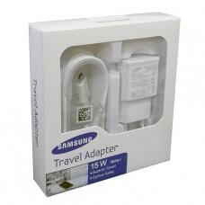 CARGADOR SAMSUNG USB 15W 2.1A BLANCO