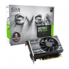 TARJETA DE VIDEO GEFORCE EVGA GTX1050 TI 4GB GAMING ACX 2.0 DDR5 PCIeX 3.0 P/N 04G-P4-6251-KR