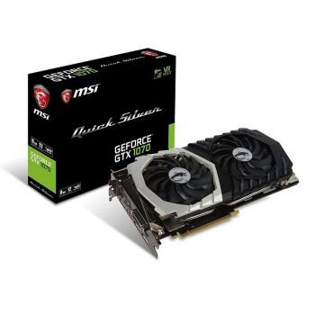 TARJETA DE VIDEO GEFORCE MSI GTX1070 TI 8G TITANIUM DDR5 PCIeX 3.0 P/N GTX 1070 TI TIT
