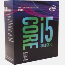 PROCESADOR INTEL CORE I5 8600k OCTAVA GENERACION s1151v2 P/N BX80684I58600K