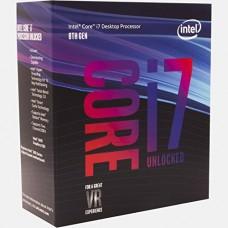 PROCESADOR INTEL CORE I7 8700K OCTAVA GENERACION s1151v2 P/N BX80684I78700K