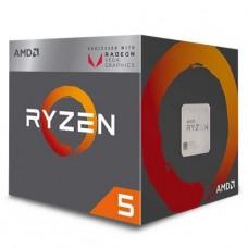 PROCESADOR AMD RYZEN 5 2400G 3.6GHZ 4 CORE Radeon™ Vega 11 sAM4 P/N YD2400C5FBBOX