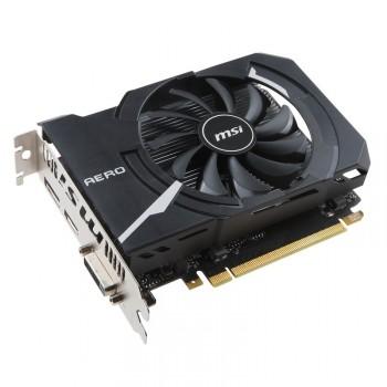 TARJETA DE VIDEO GEFORCE MSI GTX1050 AERO ITX 2G OC DDR5 PCIeX 3.0