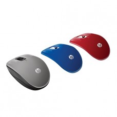 MOUSE HP INALAMBRICO Z3600 PLATA ( INTERCAMBIABLE AZUL Y ROJA ) P/N P0A34AA#ABL