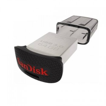 PENDRIVE SANDISK 128GB ULTRA FIT USB 3.0 P/N SDCZ43-128G-GAM46