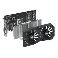 TARJETA DE VIDEO ASUS AMD ROG STRIX RX570  4G GAMING DDR5  PCIeX P/N 90YV0AJ1-M0NA00