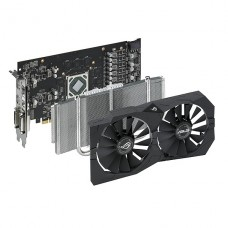 TARJETA DE VIDEO ASUS AMD ROG STRIX RX570  4G GAMING DDR5  PCIeX P/N 90YV0AJ1-M0NA00