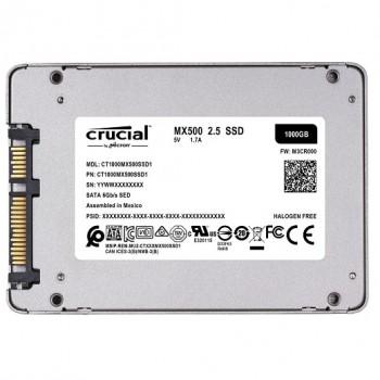 DISCO CRUCIAL DE ESTADO SOLIDO SSD MX500 1TB P/N CT1000MX500SSD1