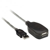 EXTENSION USB 2,0 5MTS ACTIVA GENERICO