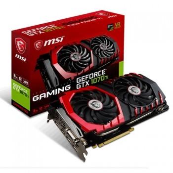 TARJETA DE VIDEO GEFORCE MSI GTX1070 TI 8G GAMING X DDR5 PCIeX 3.0