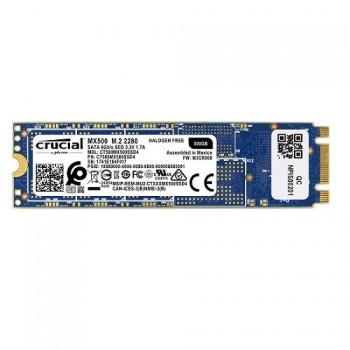 DISCO CRUCIAL DE ESTADO SOLIDO SSD M.2 MX500 500GB BOX P/N CT500MX500SSD4