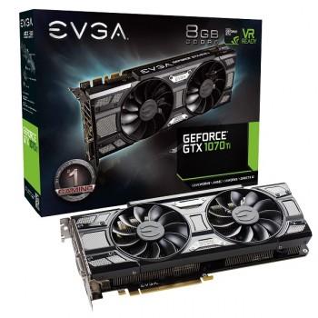 TARJETA DE VIDEO EVGA GTX 1070 TI SC 8GB GAMING ACX3.0 P/N 08G-P4-5671-KR