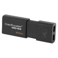 PENDRIVE KINGSTON 64GB DATATRAVELER100 USB 3.0 P/N DT100G3/64GB