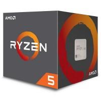 PROCESADOR AMD RYZEN 5 2600X 3.6GHZ 4 CORE Radeon™ Vega 11 sAM4 P/N YD260XBCAFBOX