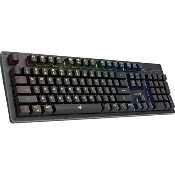 TECLADO GAMER GENIUS K10 SCORPION NEGRO RETROILUMINADO P/N 31310003401