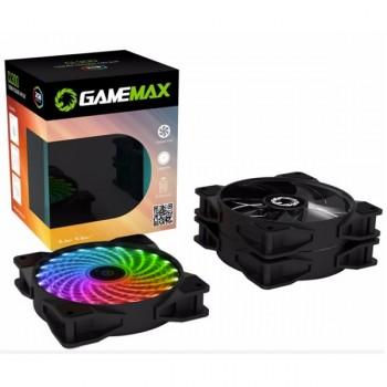 KIT DE VENTILADORES RGB CON CONTROL REMOTO CL300 GAMEMAX