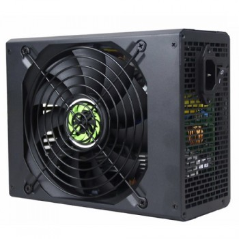 FUENTE DE PODER GAMEMAX 1650W 80 PLUS GOLD BITCOIN EDITION BLACK P/N GM-1650