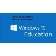 LICENCIA WINDOWS 10 PRO UPGRADE OLP ACADEMICO