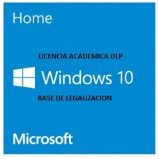 LICENCIA WINDOWS 10 HOME LEGALIZACION OLP ACADEMICA