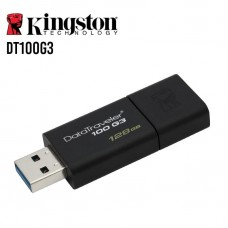 PENDRIVE KINGSTON 128GB DATATRAVELER100 USB 3.0 P/N DT100G3/128GB