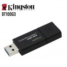 PENDRIVE KINGSTON 128GB DATATRAVELER100 USB 3.0 P/N DT100G3/128GB