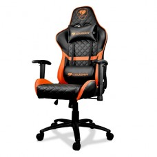 SILLA PROFESIONAL COUGAR ARMOR ONE ORANGE/BLACK - DESPACHO GRATIS EN SANTIAGO