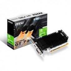 TARJETA DE VIDEO MSI GT730 2GB DDR3 LP DVI/HDMI/VGA P/N N730K-2GD3H/LP