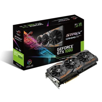 TARJETA DE VIDEO ASUS GTX 1080 8GB ROG STRIX GAMING P/N 90YV09M2-M0NA00