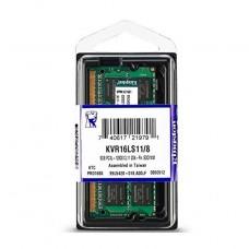MEMORIA SODIMM DDR3 8GB 1600 1.35V p/n KVR16LS118WP