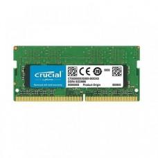 MEMORIA SODIMM CRUCIAL DDR4 4GB 2400 P/N CT4G4SFS824A