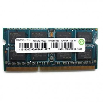 MEMORIA SODIMM 4GB DDR3L 1.35V PC3 1600MHZ OEM FOR LENOVO