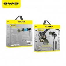AUDIFONOS AWEI BLUETOOTH DOBLE PARLANTE X660BL