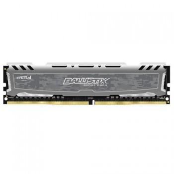 MEMORIA DDR4 CRUCIAL BALLISTIX SPORT LT 8GB 2666 GREY P/N BLS8G4D26BFSBK