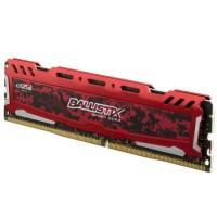 MEMORIA DDR4 CRUCIAL BALLISTIX SPORT LT 8GB 2666 RED P/N BLS8G4D26BFSEK