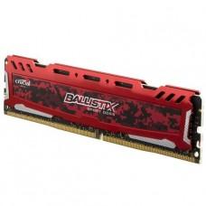 MEMORIA UDIMM DDR4 CRUCIAL BALLISTIX SPORT LT 8GB 2666 RED P/N BLS8G4D26BFSEK