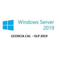 LICENCIA CAL DE WINDOWS SERVER 2019 OLP P/N R18-05768
