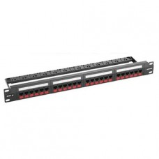 PATCH PANEL GIGALAN CAT.6 24 POSICIONES T568A/B P/N 35030162