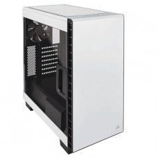GABINETE CORSAIR CARBiDE Clear 400C BLANCO ATX SIN FUENTE P/N CC-9011095-WW
