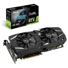 TARJETA DE VIDEO GEFORCE ASUS RTX 2060 06G DDR6 HDMI/DP/DVI P/N DUAL-RTX2060-O6G
