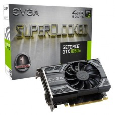 TARJETA DE VIDEO GEFORCE EVGA GTX1050 TI 4GB SC GAMING DDR5 PCIeX 3.0 P/N 04G-P4-6253-KR