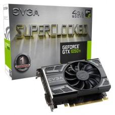 TARJETA DE VIDEO GEFORCE EVGA GTX1050 TI 4GB SC GAMING DDR5 PCIeX 3.0 P/N 04G-P4-6253-KR