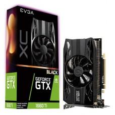 TARJETA DE VIDEO GEFORCE EVGA GTX 1660 TI XC BLACK GAMING 6GB DDR6 PCIeX 3.0 P/N 06G-P4-1261-KR