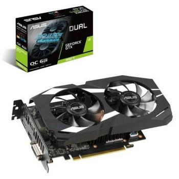 TARJETA DE VIDEO GEFORCE ASUS GTX 1660 TI DUAL OC 6GB DDR6 PCIeX 3.0 P/N DUAL-GTX1660TI-O6G
