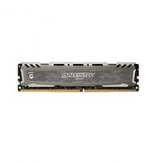MEMORIA UDIMM DDR4 CRUCIAL BALLISTIX SPORT LT GREY 16GB 3000MHZ P/N BLS16G4D30AESB