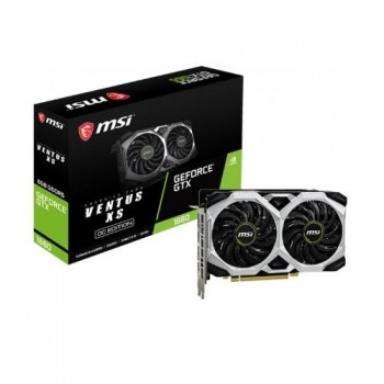 TARJETA DE VIDEO GEFORCE MSI GTX 1660 VENTUS XS 6GB OC DDR6 PCIeX 3.0 P/N 912-V379-015