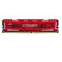 MEMORIA UDIMM DDR4 CRUCIAL BALLISTIX SPORT LT 16GB 2666 RED P/N BLS16G4D26BFSE