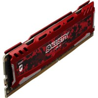 MEMORIA UDIMM DDR4 CRUCIAL 16GB BALLISTIX SPORT 3200 MHZ RED P/N BLS16G4D32AESE